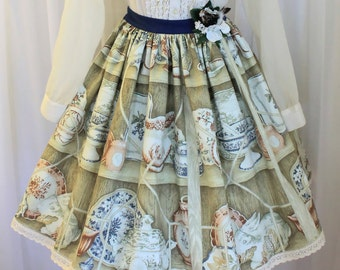 Made to order: China Cabinet Skirt