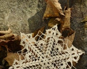 Snowflake Ornament, Snowflake Doily Ornament