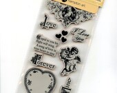 Cling Mounted Rubber Stamps from Graphic 45 - Sweet Sentiment 2 - New Release