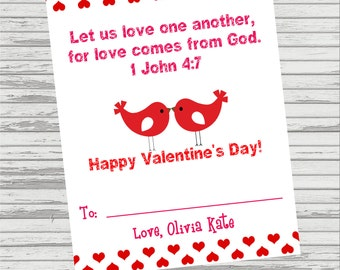 valentines day bible verse for wife popular items for 1 john 4 on etsy - Bible Verse For Valentines Day