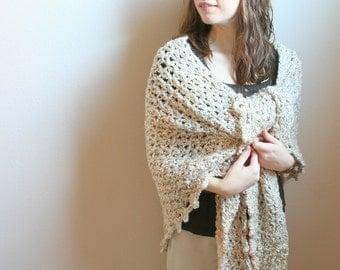 DIGITAL PATTERN:Crochet Shawl PATTERN,Crochet Wrap Pattern,Crochet Wrap Shawl,Crochet Shawl Wrap,Triangle Shawl Pattern,Beige Shawl