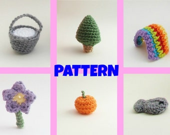 Crochet Prop Pattern / Halloween Pattern / Halloween Decor / Baby Crochet Props / Amigurumi Pattern / Crochet Pattern / Kids Toys / Baby Toy