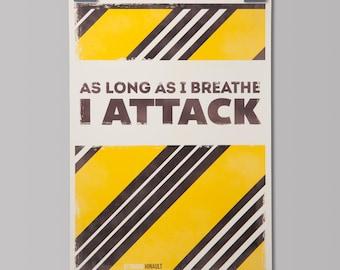 Cycling Art Print - Tour De France Cycling Quote: Bernard Hinault