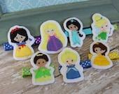 Princess Clip- You Pick One- Ready to Ship
