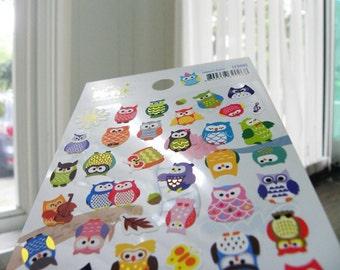 Owl Korea Sticker
