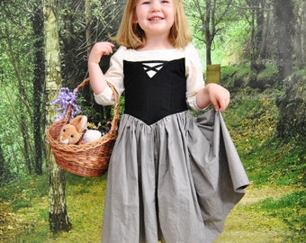 Ready to Ship: Briar Rose Dress- Size 2T