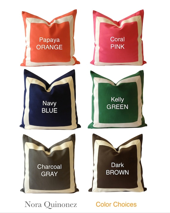 20x20 To 26x26 Cotton Canvas Decorative Pillow by NoraQuinonez