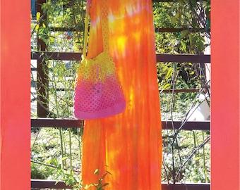 Cali  Sunset Long Rayon Dress