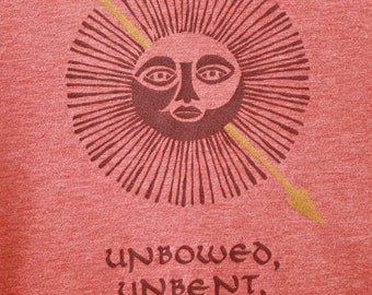 Game of Thrones Martell Tee Shirt - Unbowed, Unbent, Unbroken