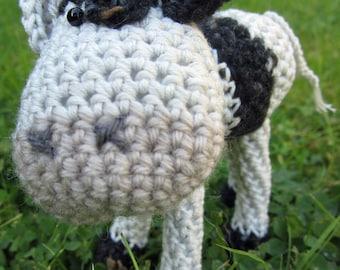 Crochet Pattern for Emmental Cow