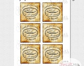 The Hobbit inspired favor tags, Lord of the Rings Favor Tags, My Precious Favors - INSTANT DOWNLOAD