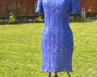 beaded Sequin dress size x large