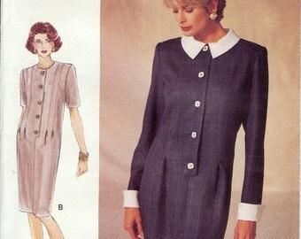 Vogue UNCUT Woman Pattern 8942 - Misses/Misses Petite Very Easy Dress - 12-16