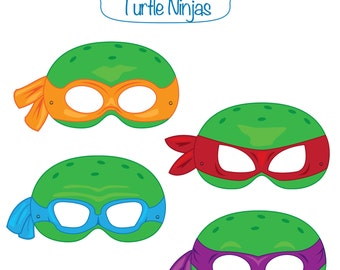 Pin Ninja Turtle Photo Booth Props Images To Pinterest