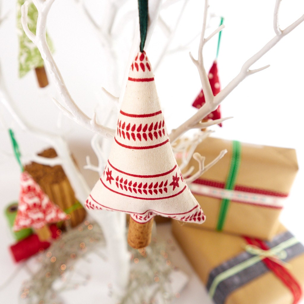 Nordic christmas ornaments -  Primitive Scandinavian Christmas Decorations Scented Cinnamon Tree Zoom