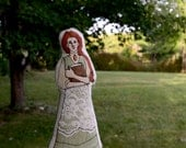 "Anne of Green Gables Art Doll. ""A Queen's Girl."" Handpainted doll by alyparrott on Etsy."