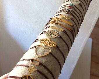 5 small charm bracelets