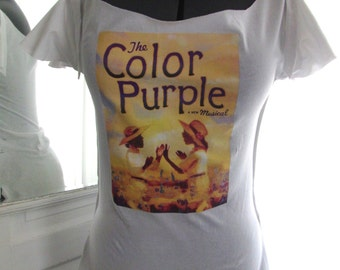 The Color Purple Musical Cutout Tee - NEW - Size M