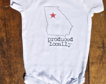 Produced Locally Onesie (Georgia Only)