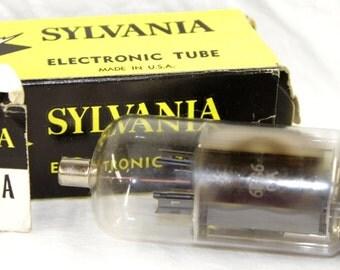Sylvania 6BG6GA Electronic Tube - w/ Original Box - Vintage 1960's
