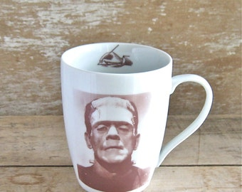Frankenstein Quote Mug, Doctor Frankenstein's Monster Coffee Cup, Mary Shelley, 16 oz Large Mug, Big Tea, Hot Chocolate, Ready to Ship