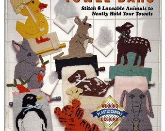 Animal Towel Bars Plastic Canvas Pattern Book The Needlecraft Shop 913310
