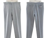 Men Mod Pants Men Trousers Men Slacks Men Dress Pants Gray Pants Men Preppy Pants 1960s Clothing 60s Clothes Men Clothing Straight Leg Pants