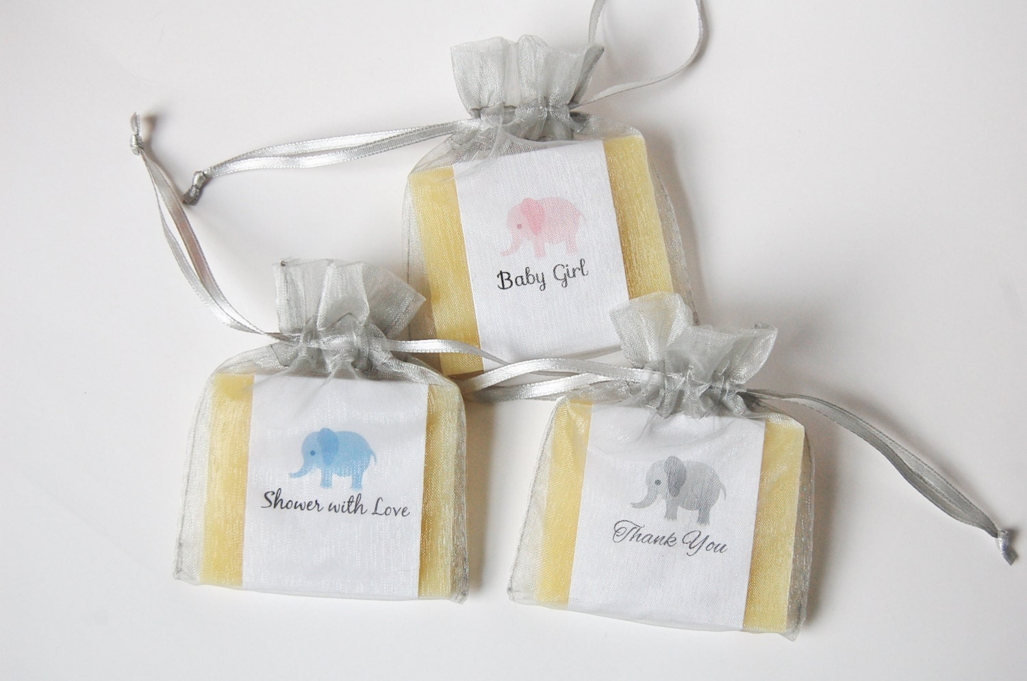 Baby Shower Favors Hand Soap ~ Elephant soap baby shower favors