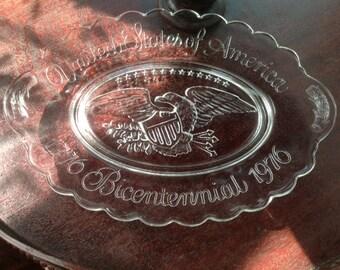 Avon Bicentennial Plate 1776 - 1976