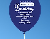 Custom Balloons for Birthdays, Weddings or Other Special Events