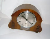 1930s Aeroplane 8 Day Mantle Clock Westminster Chimes Antique Clock Mantel Clock Vintage Clock