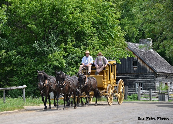 Image result for stagecoach in Upper Canada