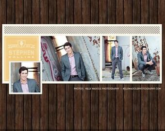 Senior Graduation Facebook Timeline Cover - FB21
