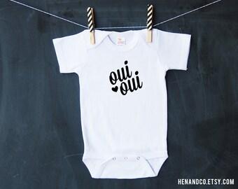 Baby Bodysuit - FRENCH OUI OUI Baby Clothing