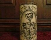 Moans of Death: Parchment Collection Candleholder