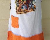 Masters of the Universe He-Man Skeletor Eternia  T-shirt Sun Dress LARGE