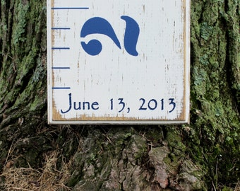 Birth Date Engraving Add On For Any Growth Chart