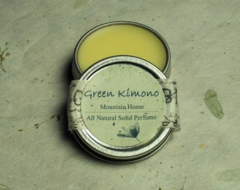Woodsy Scent--Mountain Home/Fresh Woods Natural Solid Perfume