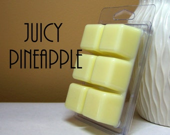 Pineapple Scented Candle Melts Tarts