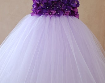 Lilac Hydrangea Dress