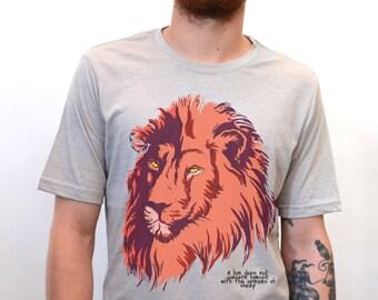 Lion T-Shirt Men's Graphic T Shirts