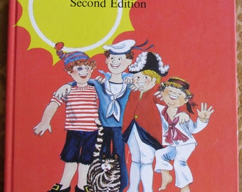 Vintage Childrens Book - Music Book - Sailors and Sunshine Basic Goals in Music 5 - Second Edition - McGraw Hill Ryerson Toronto Canada 1974