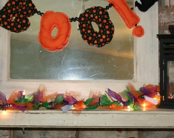 Popular items for halloween garland on etsy for Arland decoration