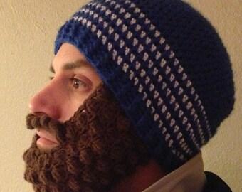 Bobble Beard Hat Beanie