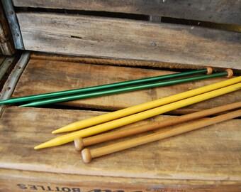 Knitting Needles Vintage Boye Set of 3
