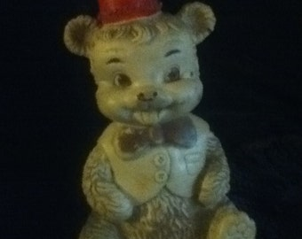 Vintage rubber bear by The Edward Mobley Co.