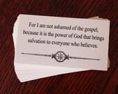 Bible Verses for men, COURAGEOUS FAITH, 48 cards, Scripture Memory Encouragement, Men, Teens, Father's Day, Graduation, Women of Faith