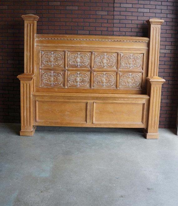 vintage heritage bedroom furniture superb king bed frame set english pine oak