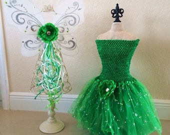 Tinkerbell Costume, Tinkerbell Wings, Fairy Wings, Tinkerbell Tutu, Fairy Costume, Tinkerbell Dress, Fairy Tutu, Tinkerbell Birthday