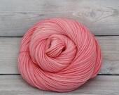 Orion - Hand Dyed Superwash Merino Wool Sport Yarn - Colorway: Watermelon